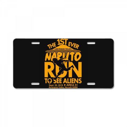 Naruto Run For Aliens License Plate Designed By Tremsrart