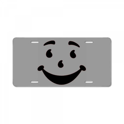 Kool Aid Man Oh Yeah Costume License Plate Designed By Tremsrart