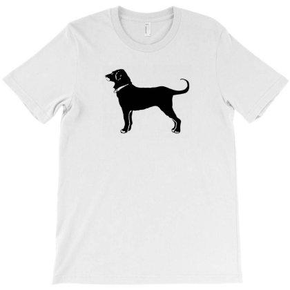 Black Dog T-shirt Designed By Shirt1na