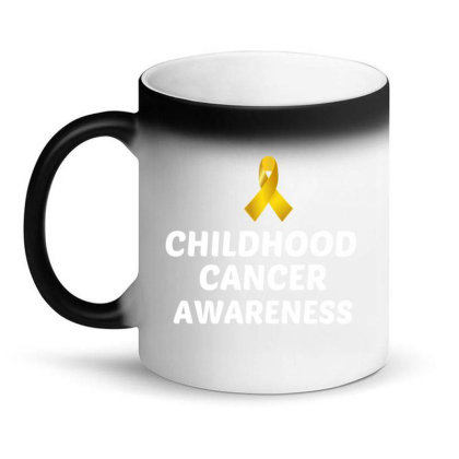 Childhood Cancer Awareness White Magic Mug Designed By Perfect Designers