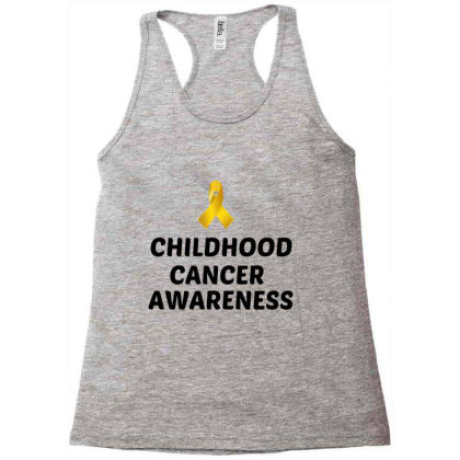 Childhood Cancer Awareness Racerback Tank Designed By Perfect Designers