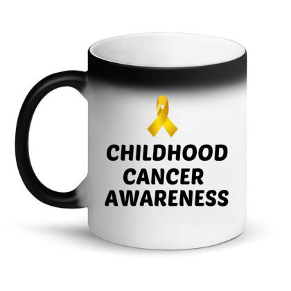 Childhood Cancer Awareness Magic Mug Designed By Perfect Designers