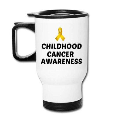 Childhood Cancer Awareness Travel Mug Designed By Perfect Designers