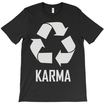 Karma T-shirt Designed By Enjang