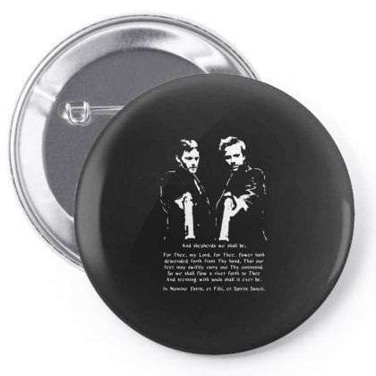 Boondock Saints Prayer Pin-back Button Designed By Brave Tees