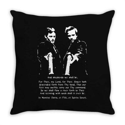 Boondock Saints Prayer Throw Pillow Designed By Brave Tees