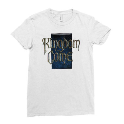 Kingdom Come Ladies Fitted T-shirt Designed By Fanshirt