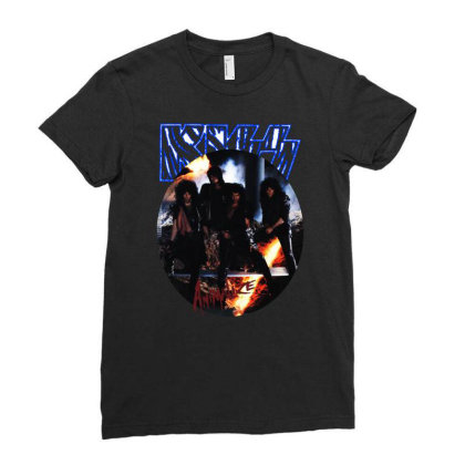 Kiss Animalize Ladies Fitted T-shirt Designed By Fanshirt
