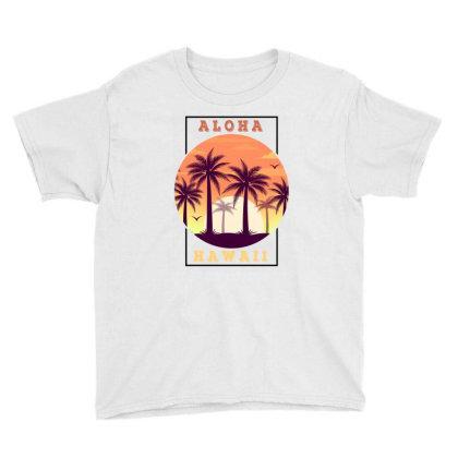Aloha Hawaii For Light Youth Tee Designed By Sengul