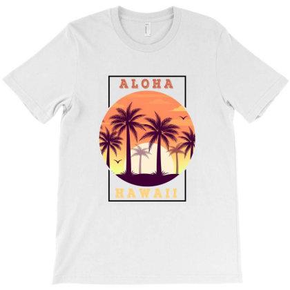 Aloha Hawaii For Light T-shirt Designed By Sengul