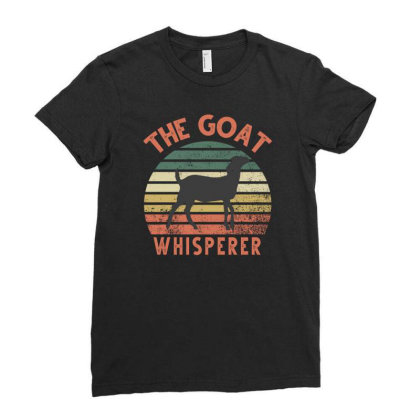 The Goat Whisperer Ladies Fitted T-shirt Designed By Sengul
