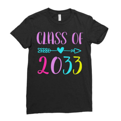 Kindergarten 2020 Class Of 2033 Ladies Fitted T-shirt Designed By Kakashop