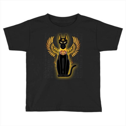 Egypt Cat Napoleon Wings Toddler T-shirt Designed By Nvlinh