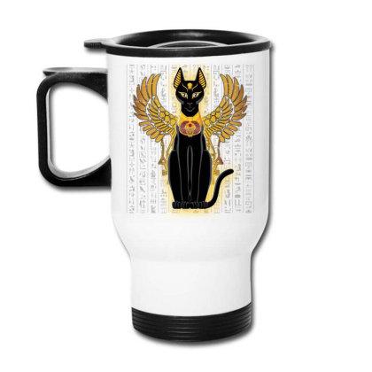 Egypt Cat Napoleon Wings Travel Mug Designed By Nvlinh