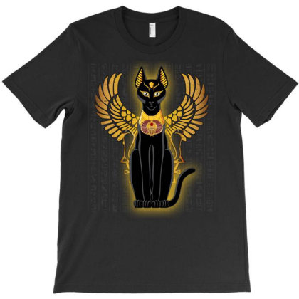Egypt Cat Napoleon Wings T-shirt Designed By Nvlinh