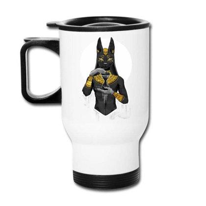 Egypt Cat Napoleon Travel Mug Designed By Nvlinh