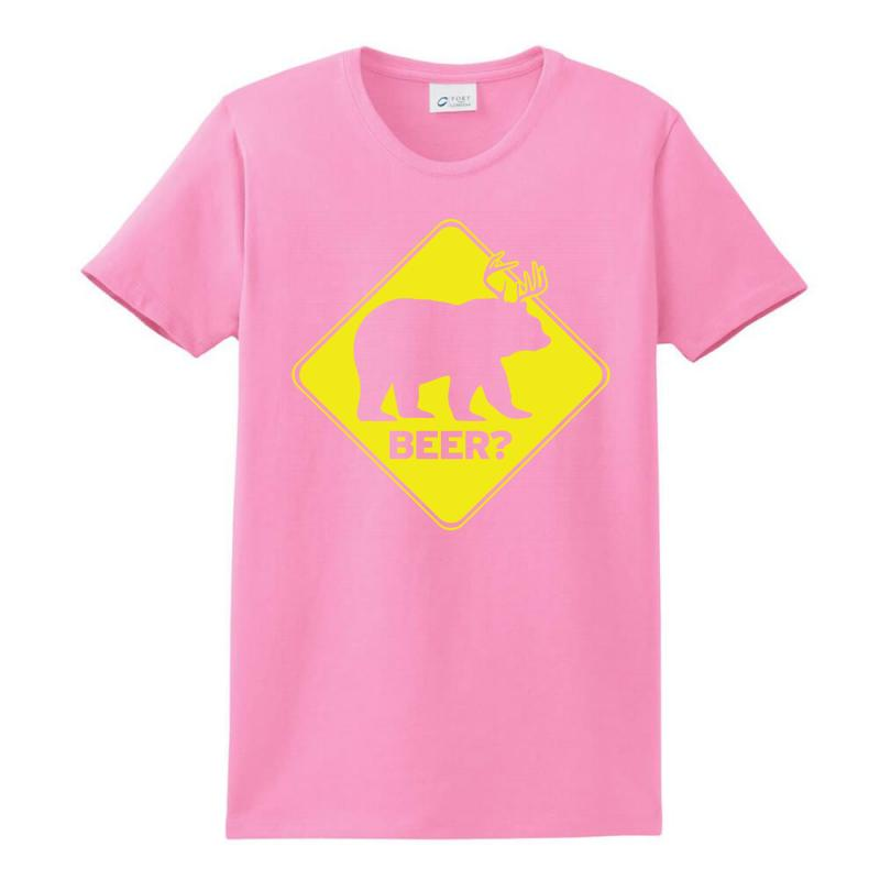 Beer Ladies Classic T-shirt   Artistshot