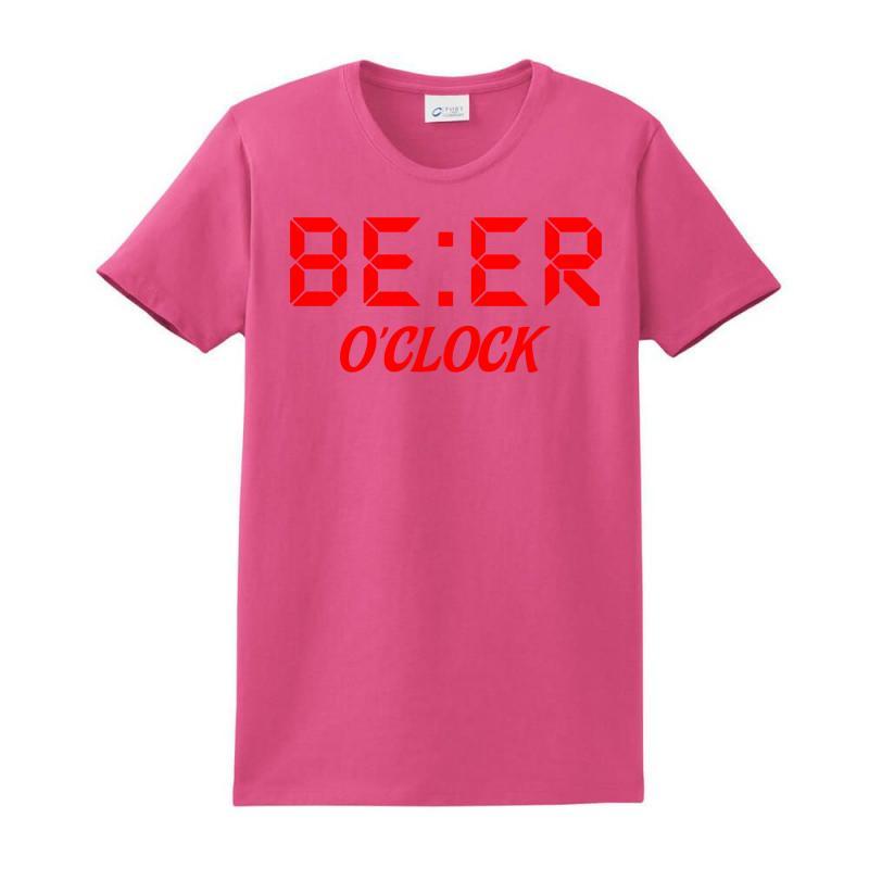 Beer O'clock Ladies Classic T-shirt | Artistshot