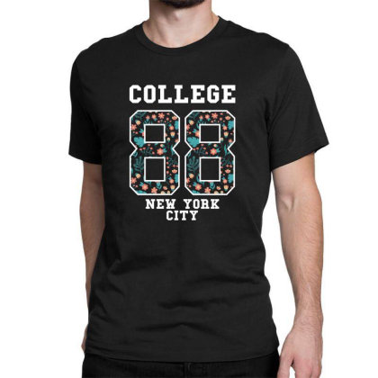 College 88, New York City Classic T-shirt Designed By Estore