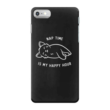 Nap Time Is My Happy Hour Funny Cute Gift Iphone 7 Case Designed By Koalastudio