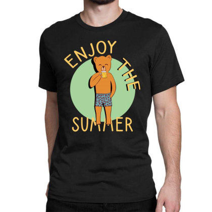 Enjoy The Summer Classic T-shirt Designed By Cypryanus