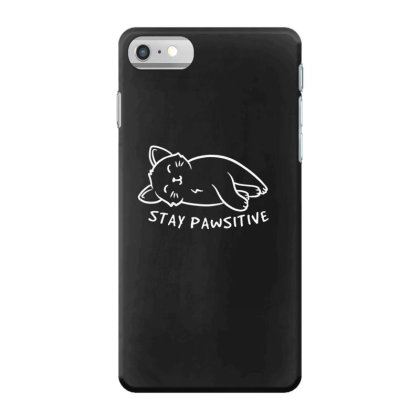 Stay Pawsitive Funny Cute Gift Iphone 7 Case Designed By Koalastudio