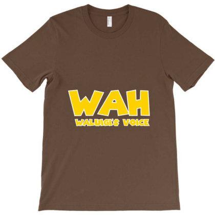 Waluigi Voice T-shirt Designed By Erickthohir