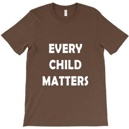 Every Child Matters T-shirt Designed By Erickthohir