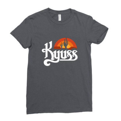 Kyuss Band Ladies Fitted T-shirt Designed By Erickthohir