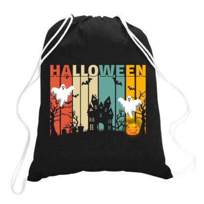 Halloween Drawstring Bags Designed By Badaudesign