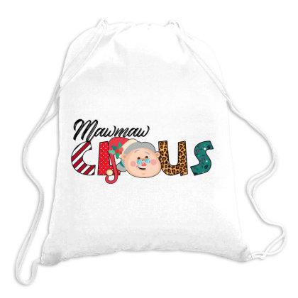 Maw Maw Claus Drawstring Bags Designed By Badaudesign