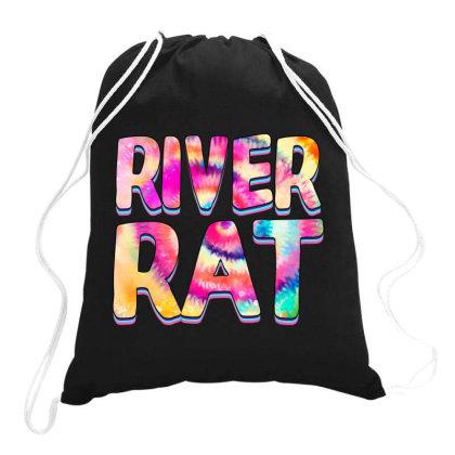 River Rat Drawstring Bags Designed By Badaudesign