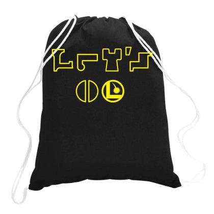 Let's Go! Drawstring Bags Designed By Fanshirt