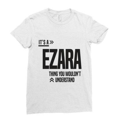 Ezara Ladies Fitted T-shirt Designed By Chris Ceconello