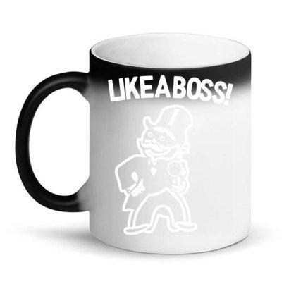 Like A Boss (2) Magic Mug Designed By Fanshirt