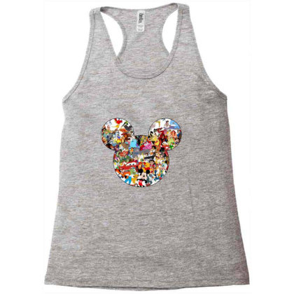 Mouse Racerback Tank Designed By Asatya