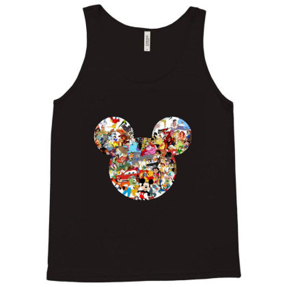 Mouse Tank Top Designed By Asatya