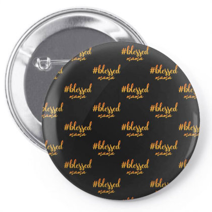 Blessed Mama Pin-back Button Designed By Sengul