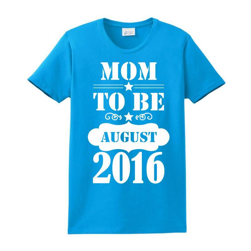 Mom To Be August 2016 1 Ladies Classic T-shirt | Artistshot
