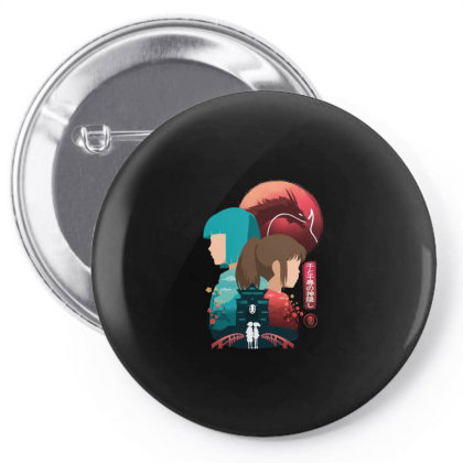Spirited Away Pin-back Button Designed By Hirolabs