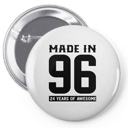 Made In 96 24 Years Of Awesome Pin-back Button Designed By Bettercallsaul