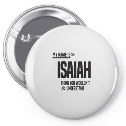 Isaiah Pin-back Button Designed By Chris Ceconello