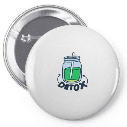 Detox Pin-back Button Designed By Designsbymallika