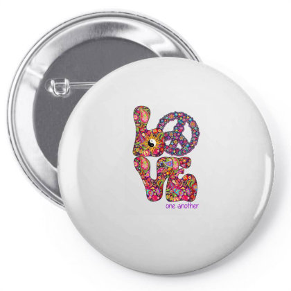 Love One Another Pin-back Button Designed By Badaudesign