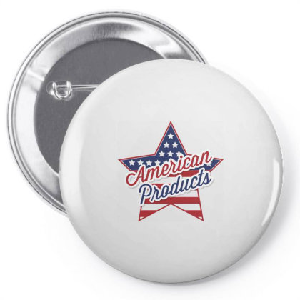 American Products, Star Pin-back Button Designed By Estore