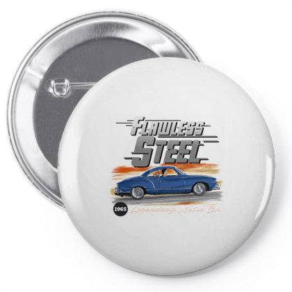 Flawless Steel Pin-back Button Designed By Samkal