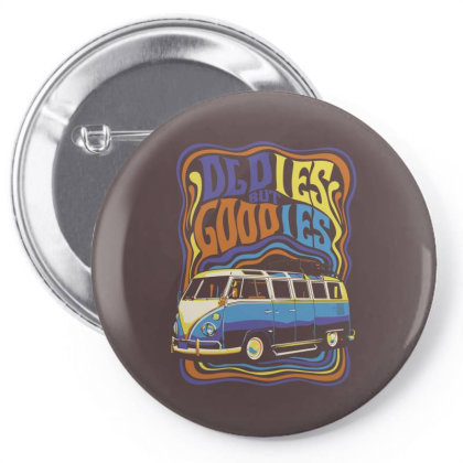 Oldies Pin-back Button Designed By Samkal