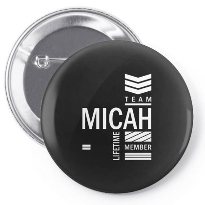 Micah Personalized Name Birthday Gift Pin-back Button Designed By Cidolopez