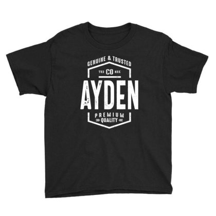 Ayden Personalized Name Birthday Gift Youth Tee Designed By Cidolopez