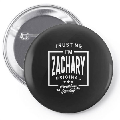Zachary Personalized Name Birthday Gift Pin-back Button Designed By Cidolopez
